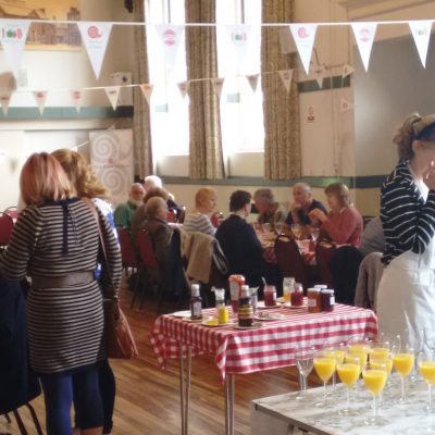 Guests tuck into the ever-popular Big Slow Brunch.