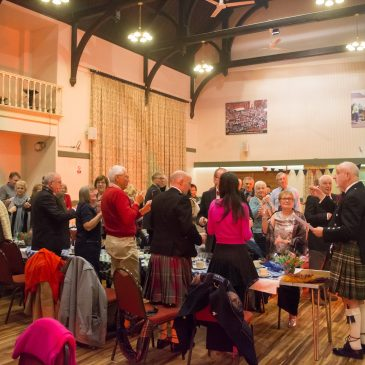 Burns Night supper cancelled