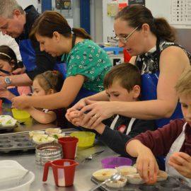 Make, bake, and take on family day