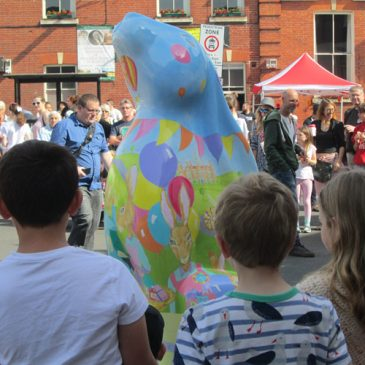 GoGoHares trail comes to Aylsham