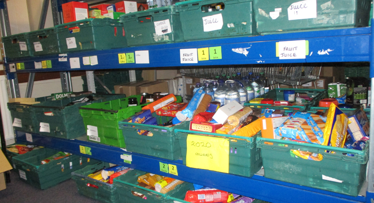 Aylsham links up with Cromer Foodbank